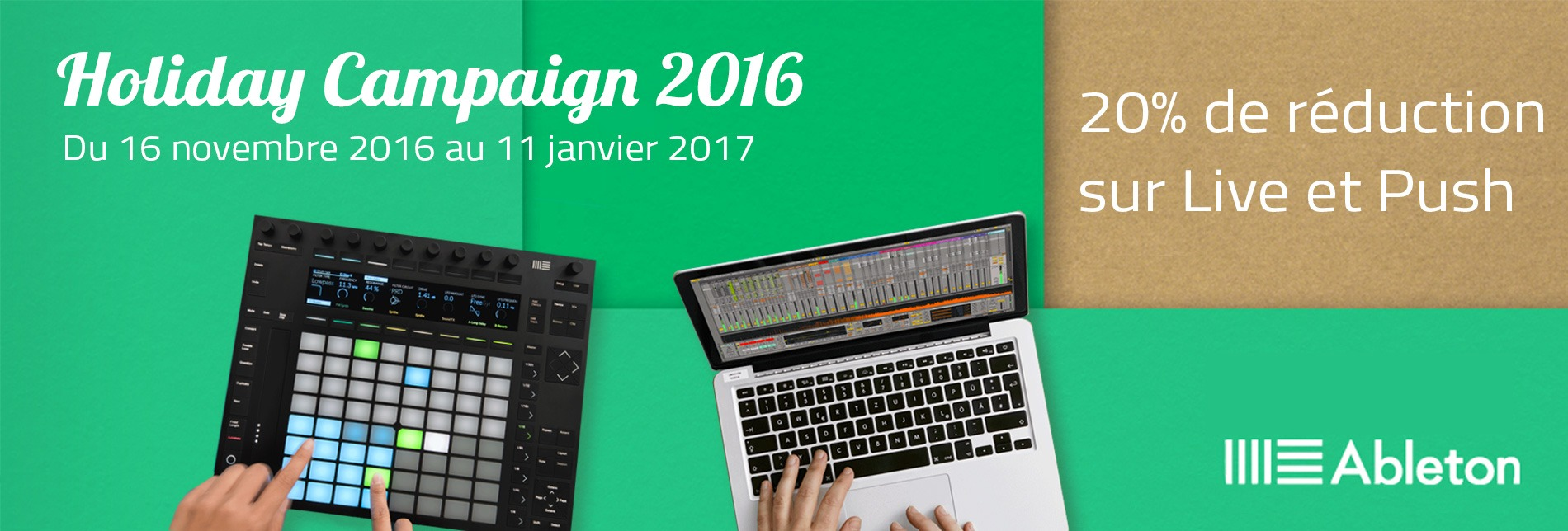 Ableton Holiday Campaign 2016