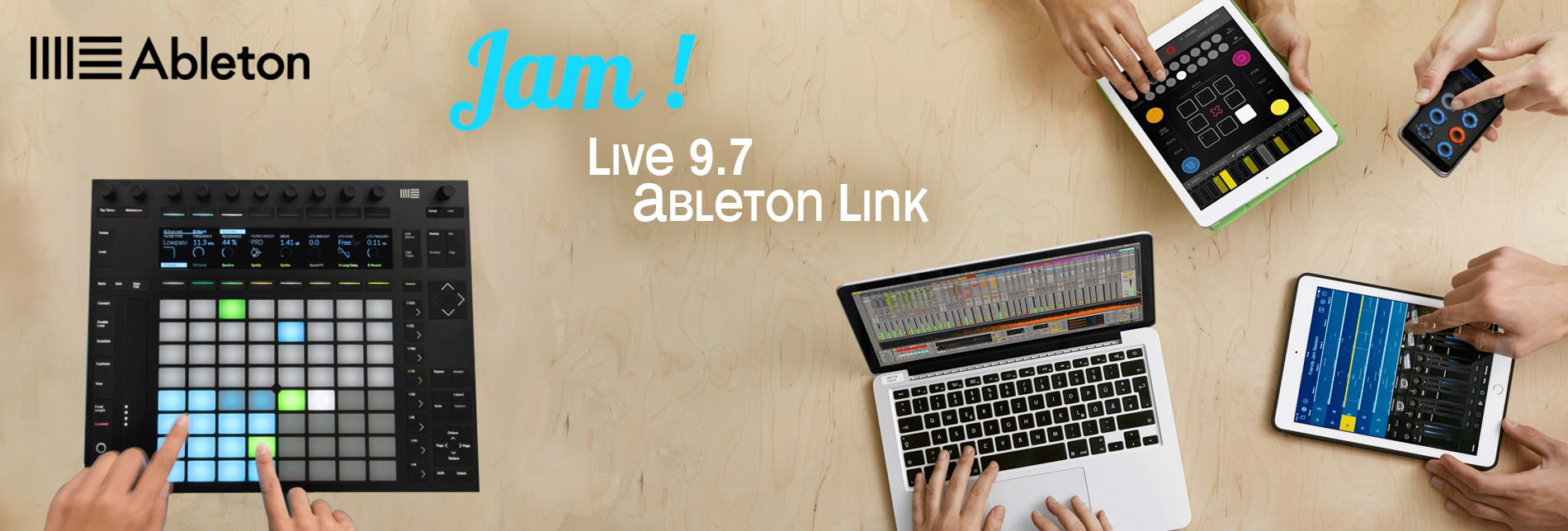 Ableton Suite 9 Push Link