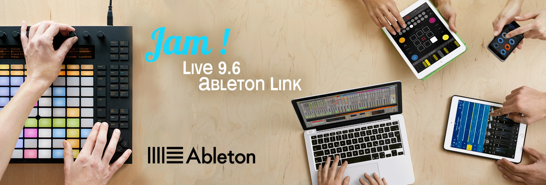 Ableton Suite 9 Push Link