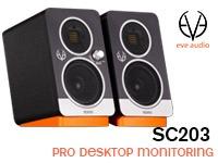 Eve Audio - SC203, Pro desktop monitoring