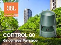 JBL Control 80 enceintes paysage