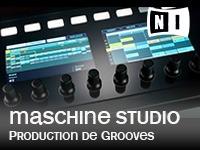 NI, Maschine Studio, système de production de grooves