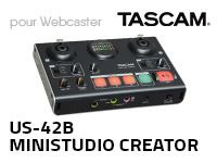 Tascam - Mini Studio Creator US-42B