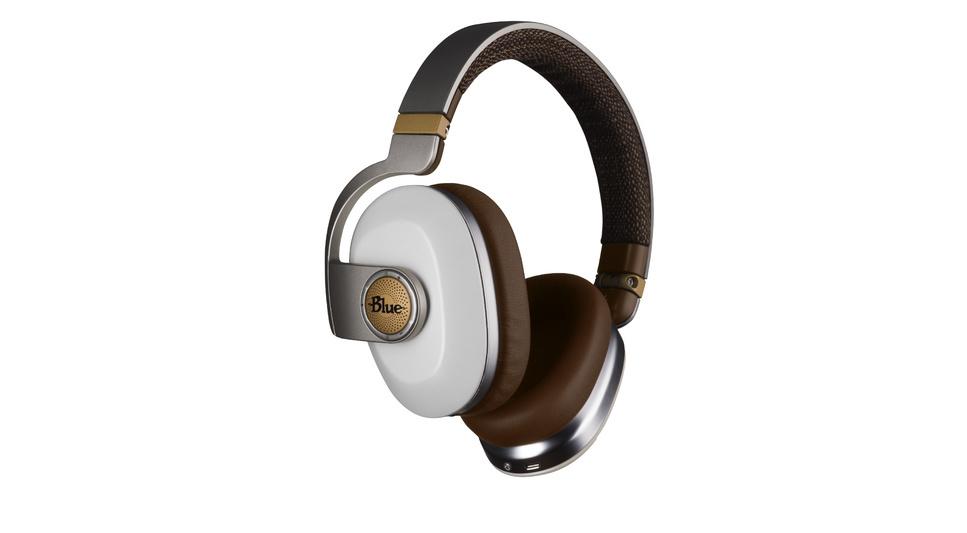 Casque Premium Sans Fil Avec Suppression De Bruit Blanc Studio